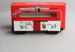 American Flyer 6-48319 S Scale 1993 Joy to the World Christmas Boxcar LN/Box