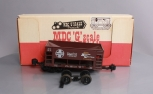 MDC G4163 Ore Car Smooth Side-Assembled Santa Fe (Mineral Red)/Box