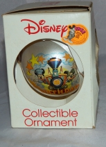 Schmid Gallery Mickey Mouse Minnie 60th Birthday Ornament Railroad Disney train