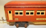1930s Lionel Trains 4 TERRA COTTA passenger cars 613 614 Prewar O Coach Bag Obs