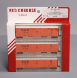Red Caboose 18814-1 N Scale BAR 57' Mechanical Reefer w/Hydra-Cushion Underframe