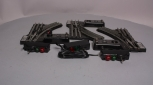 Lionel 6-5132 & 6-5133 Right and Left Hand Switches/Turnouts [3] EX