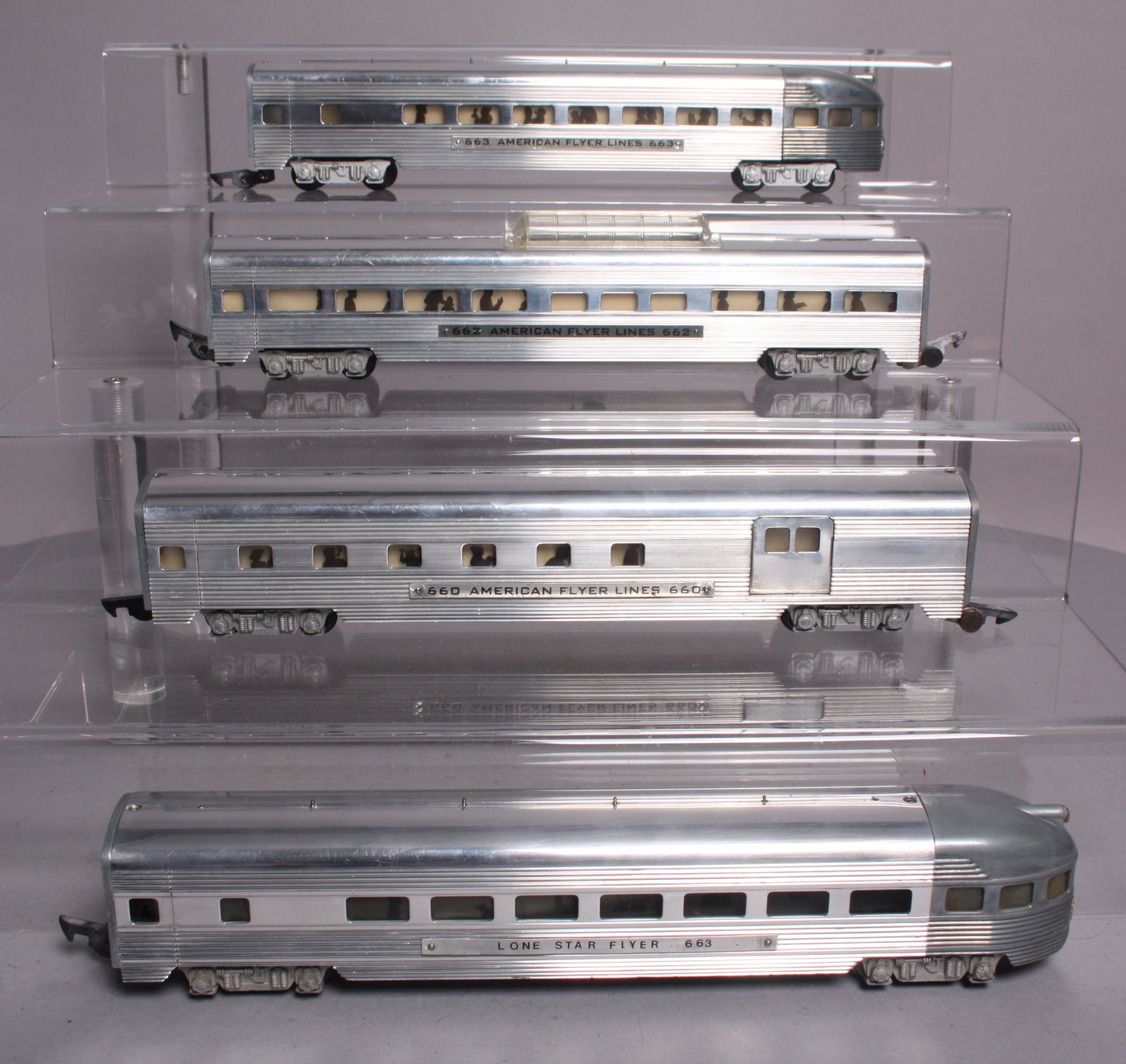 Buy American Flyer S Scale Assorted Postwar Passenger Cars