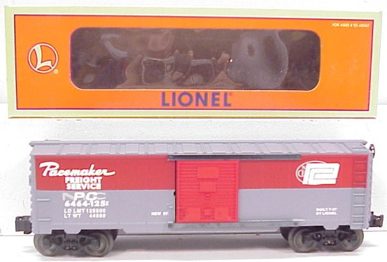 Lionel 6-19287 New York Central/ Penn Central Merger Boxcar NIB 023922192875 Lionel 6-19287