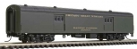 Walthers 932-55103 N Chicago Great Western Streamlined Pullman-Standard 72' Bagg