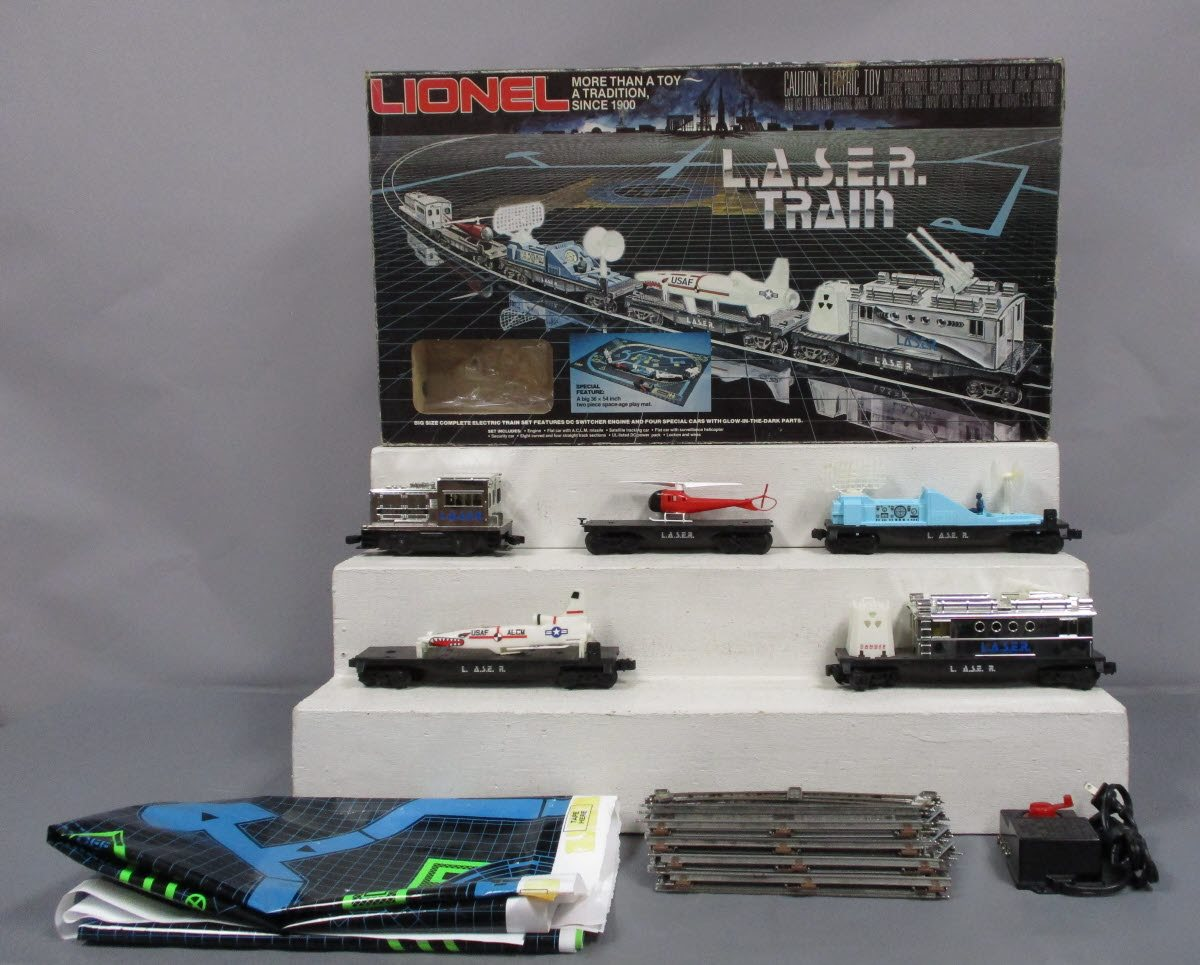 Lionel 6-1150 L.A.S.E.R. Train Set/Box 023922611505 Lionel 6-1150