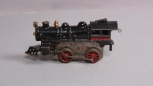 American Flyer O Gauge Prewar Cast Iron 0-4-0 Clockwork Steam Locomotive