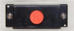 K-Line K-0090A Single Push Button Controller for accessories Parts K-1O orange