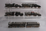 HO Scale Assorted Steam Locomotives & Tenders [5]
