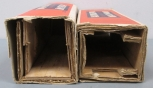 Lionel Postwar Empty 225E Steam Locomotive Box & 2235W Tender Box/Box