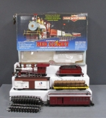 Bachmann 90012 Ready to Run G Scale Red Comet Train Set EX/Box