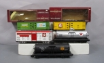 Bachmann G Scale Assorted  Freight Cars [5] Metal & Plastic Wheels/Box