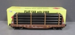 Aristo-Craft 46403 Southern Pacific Bulkhead Flatcar EX/Box