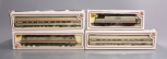 Bachmann HO Amtrak Diesel and Electric Locomotives w/ Passenger Cars: 350, 951,