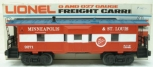 Lionel 6-9271 Minneapolis & St. Louis Bay Window Lighted Caboose LN/Box