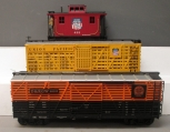 Bachmann & Aristo-Craft G Scale Freight Cars: D&RGW #46105, UP #425, UP #576 - M