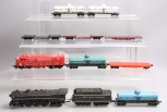 Marx & Other HO Scale Assorted Locomotives and Freight Cars [10]