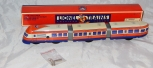 Schylling Lionel Trains Streamliner Three Car Wind-Up Tin Train Diesel RETIRED