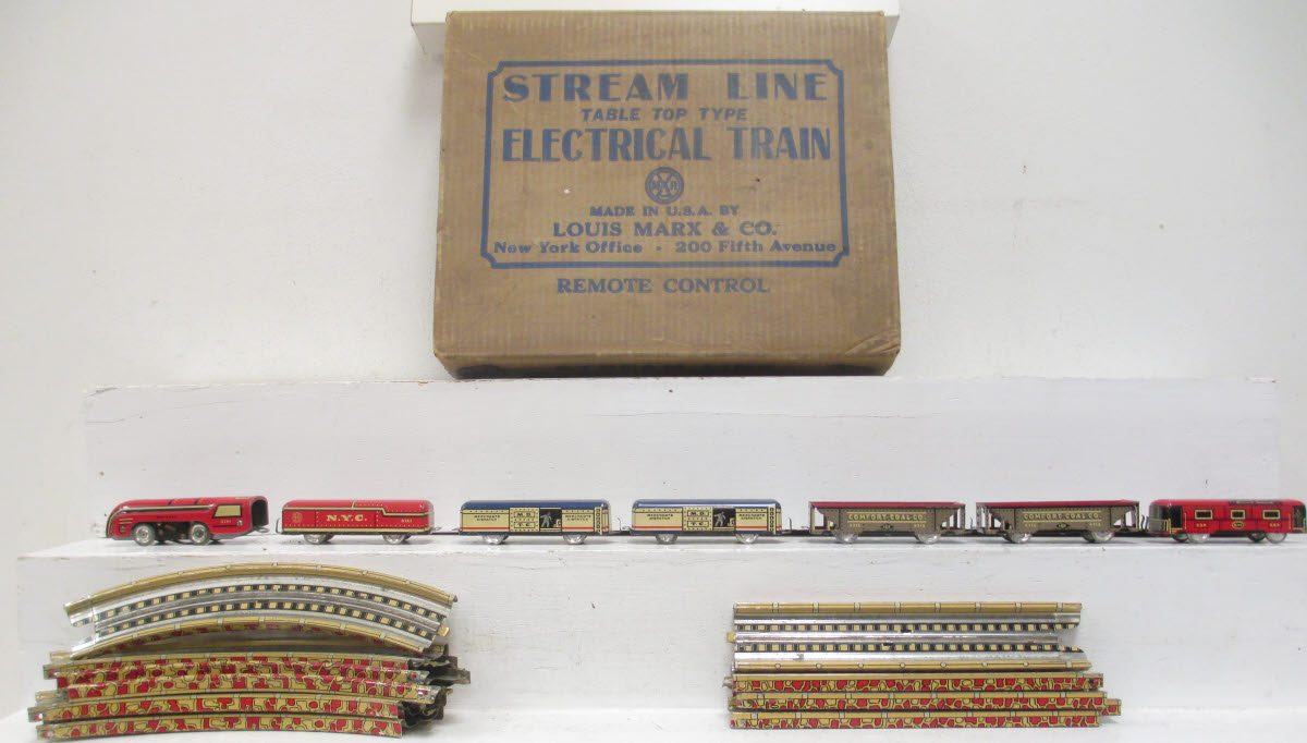 Buy Marx Stream Line Table Top Electrical Train Set Box