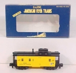 American Flyer 6-48718 S Scale Chicago & North Western Offset Cupola Caboose NIB
