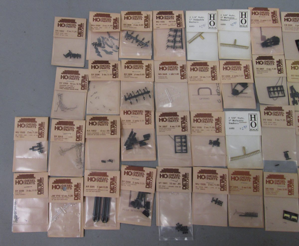 Buy Detail Associates HO Scale Detail Parts: SY2206, MU1505