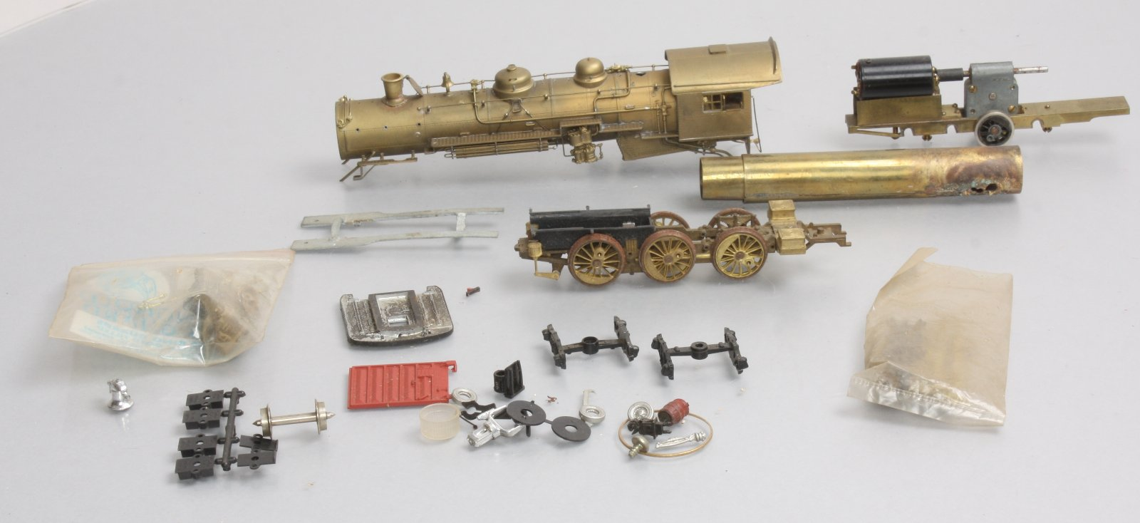 Buy HO Scale Brass Steam Locomotive Kit | Trainz Auctions