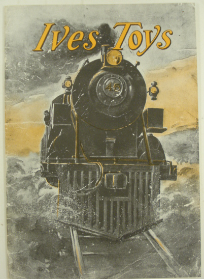 Buy Ives 1910 Reproduction Toy Train & Accessory Catalog LN