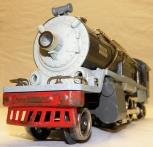 Prewar Lionel Trains 255e steam engine gunmetal gray 1935-36 locomotive new base