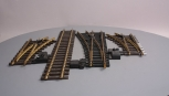 Aristo-Craft and Other G Scale Brass Right, Left, and Wye Manual Switch Turnout