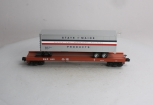 MTH 20-98137 State of Maine Flatcar w/ 40' Trailer LN/Box