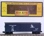 MTH 30-7411 Chesapeake & Ohio Semi-Scale Boxcar NEW