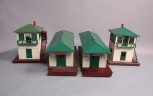 Lionel 356 Operating Freight Stations & 445 Operating Watchman Towers [4]