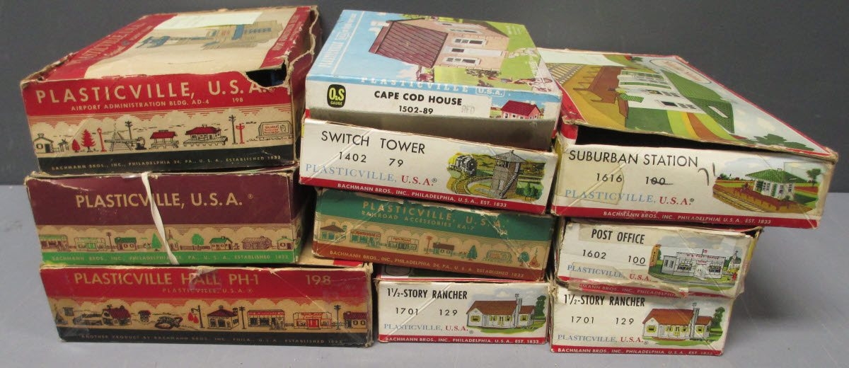 Buy Plasticville O Scale Assorted Postwar Building Kits [10