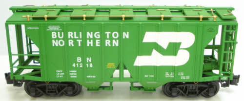Aristo-Craft 41218 Burlington Northern 2-Bay Covered Hopper #41218 EX 022081412183 Aristo-Craft 41218