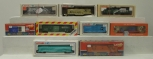 Lionel HO Scale Diesel Locomotives, Freight Cars: 5-8411, 5-8621, 0349, 5-5700 [