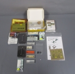 N Scale Assorted Signals, Building Kits, Figures & DC Module [18]