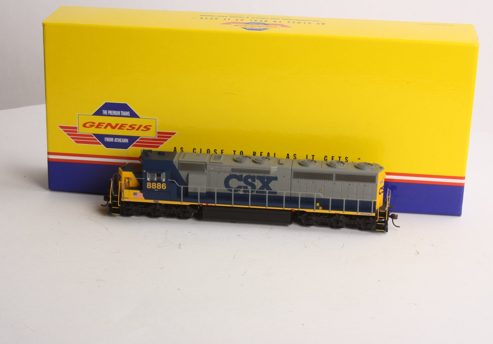 Buy Athearn G67057 HO Scale CSX SD45-2 Diesel Locomotive