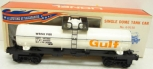 Lionel 6-9150 Gulf Single Dome Tank Car LN/Box