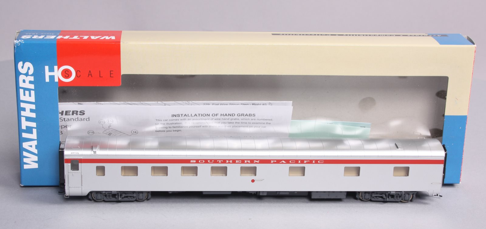 Walthers 932-9385 HO Southern Pacific Pullman 10-6 Sleeper Passenger Car NIB 616374084289 Walthers 932-9385