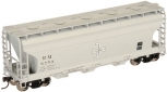 Atlas 50000276 N Scale B&M ACF Covered Hopper #5754 NIB