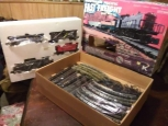 1985 Southern Pacific  Fast freight diesel train set in box