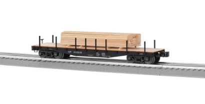 Lionel 6-82851 Northern Pacific 40' Flatcar with Lumber Load NIB 023922828514 Lionel 6-82851