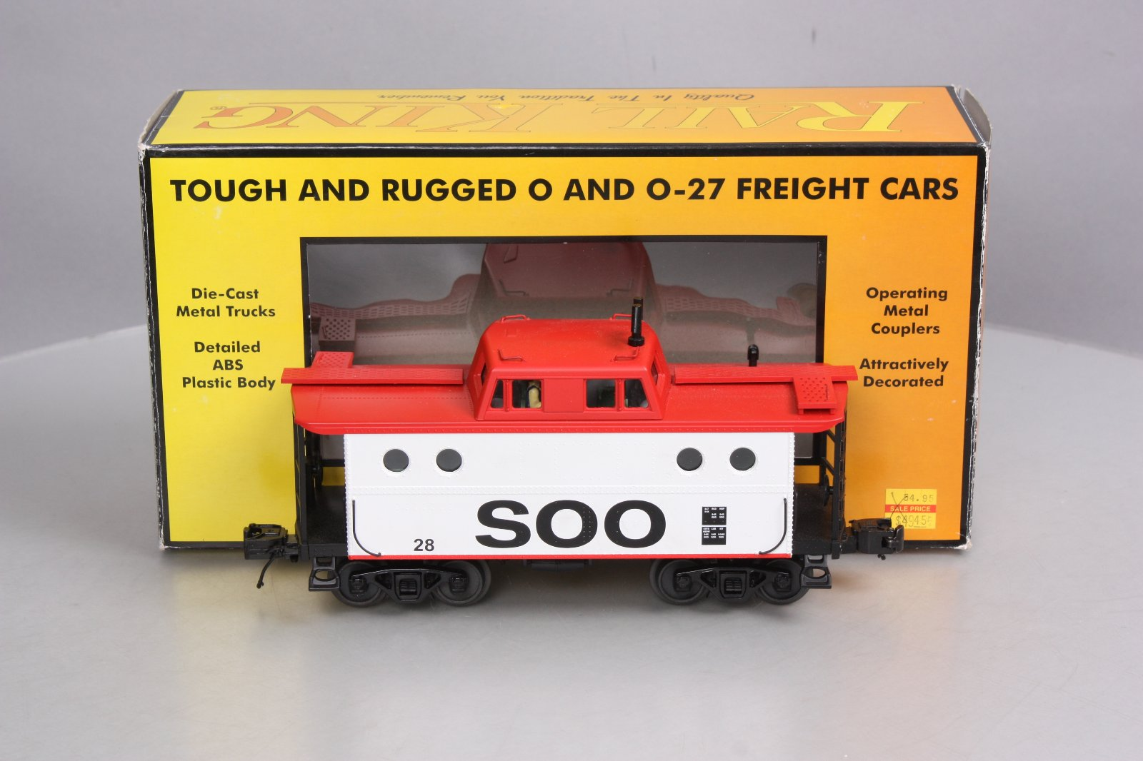 Buy MTH 30-77199 SOO Line N5c Caboose LN/Box | Trainz Auctions