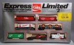 Markatron Express Limited 1079 HO Express Limited Coke Coca Cola Train Set #2
