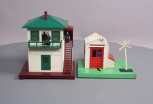 Lionel 145 Operating Gateman & 445 Operating Watchman Tower