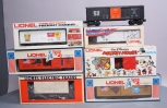 Lionel & Other Assorted Postwar Freight Cars; 6-7608, 6-9663, 6-7610,, 6-6014, 6