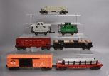 Lionel, Atlas & Other O Scale Assorted Postwar Freight Cars; 6511, 6468-25, 6456
