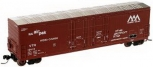 Atlas 50000174 N Scale VRT 53' Plug Door Boxcar #10436 NIB