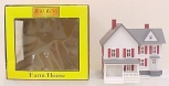 MTH 30-9007 White and Red Farm House Built-Up NIB
