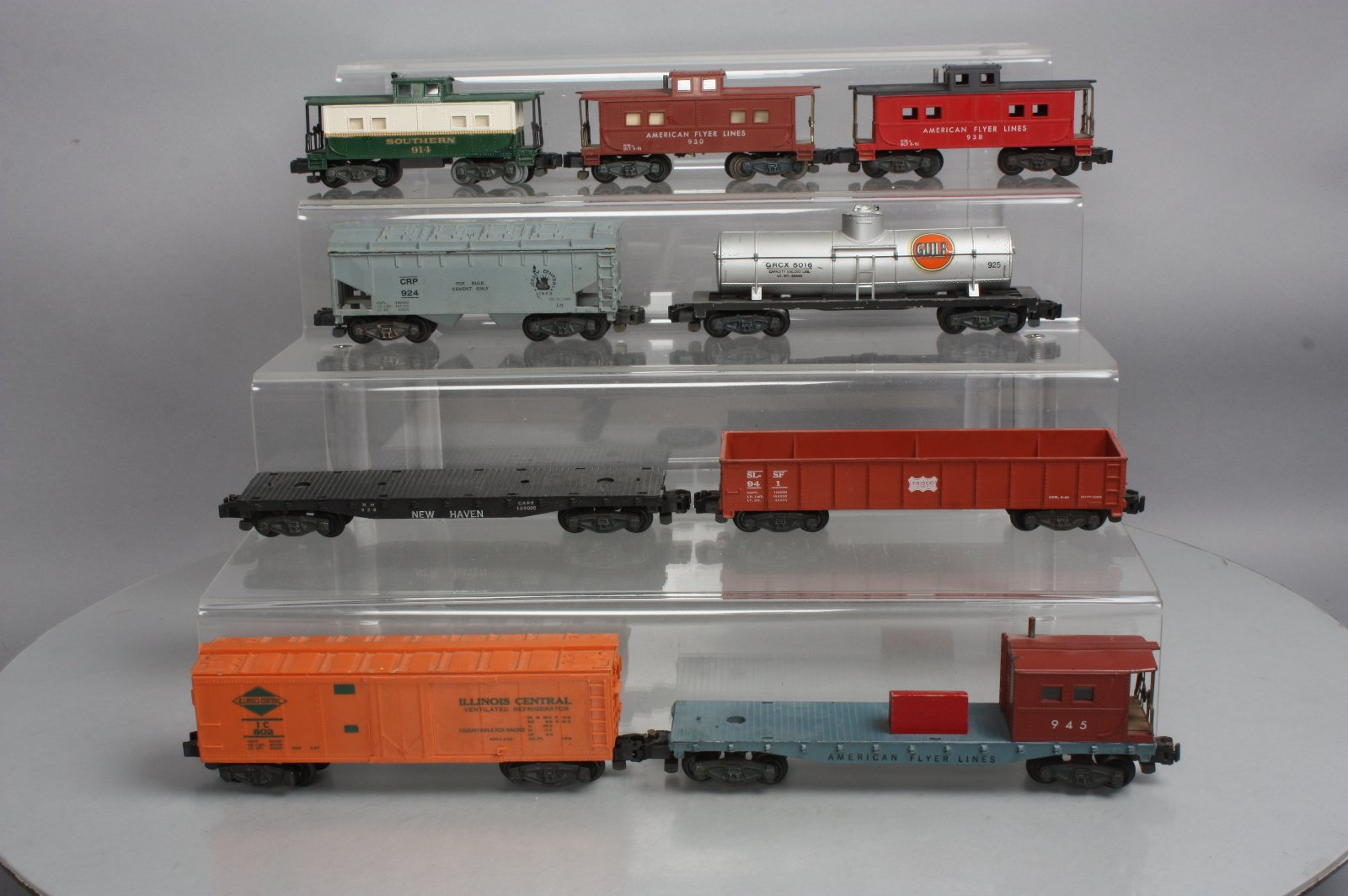 Buy AF S Gauge PW Freight Cars: 802, 945, 930, 914, 938, 928